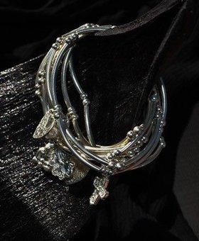 Saraswati Silver Silver Charmer Heart