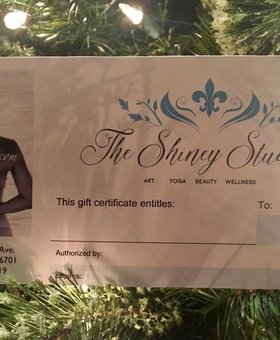 The Shiney Studios Gift Certificate $100.00