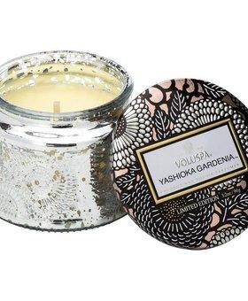 Voluspa Yashioka Gardenia Small Glass Jar Candle