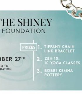 Tiffany Bracelet Raffle~The Shiney Foundation~ Pack of 3 tickets for 10$