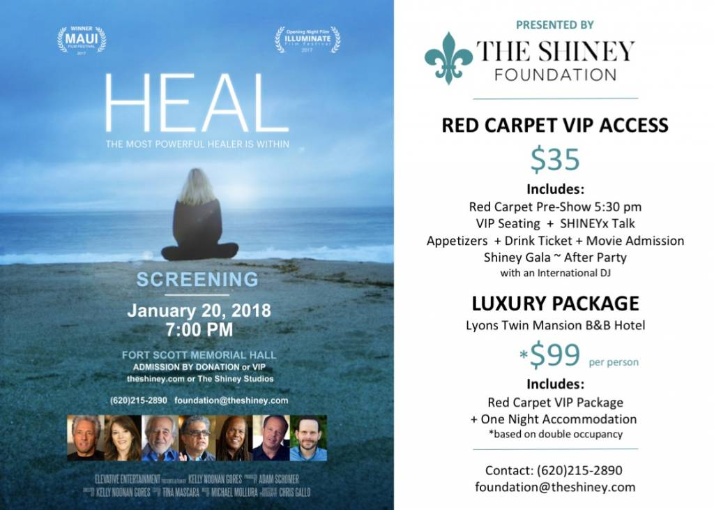 The Shiney Foundation VIP Heal