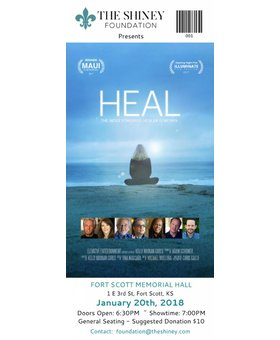 The Shiney Foundation General Admission HEAL Ticket ($10 Donation)
