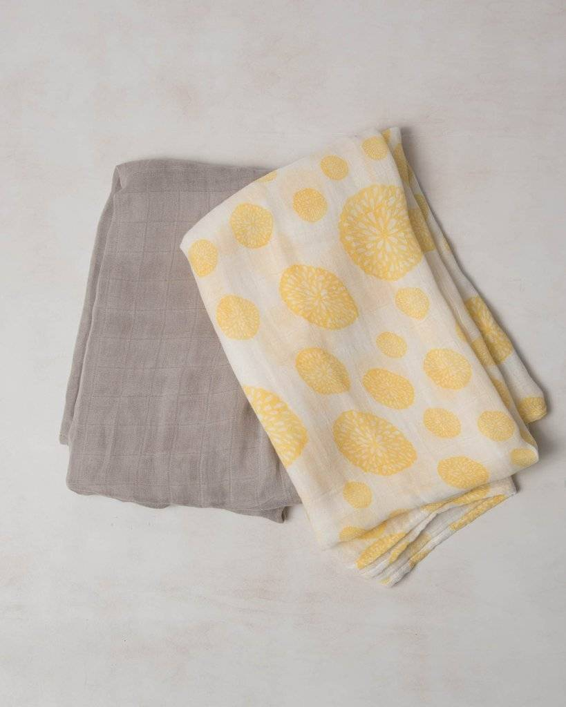 Deluxe Muslin Swaddle 2 Pack