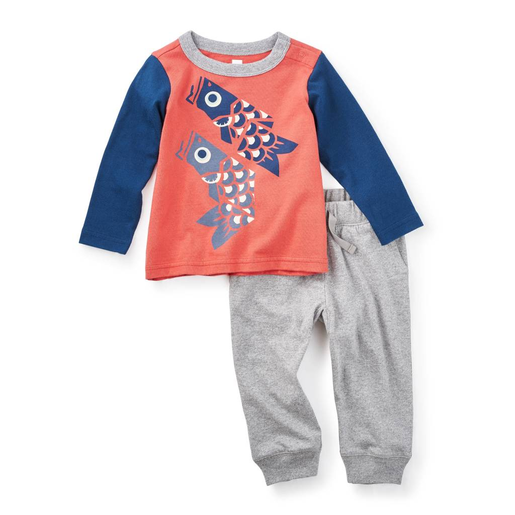 Tea Collection Tako Baby Outfit