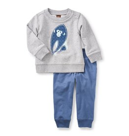 Tea Collection Year of the Monkey Baby Outfit