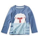 Tea Collection Snow Monkey Graphic Tee