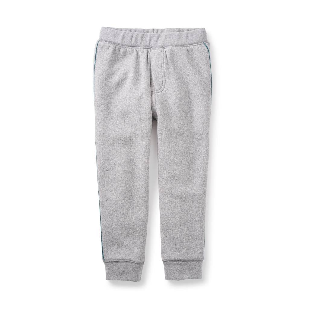Tea Collection Side Stripe Fleece Pants