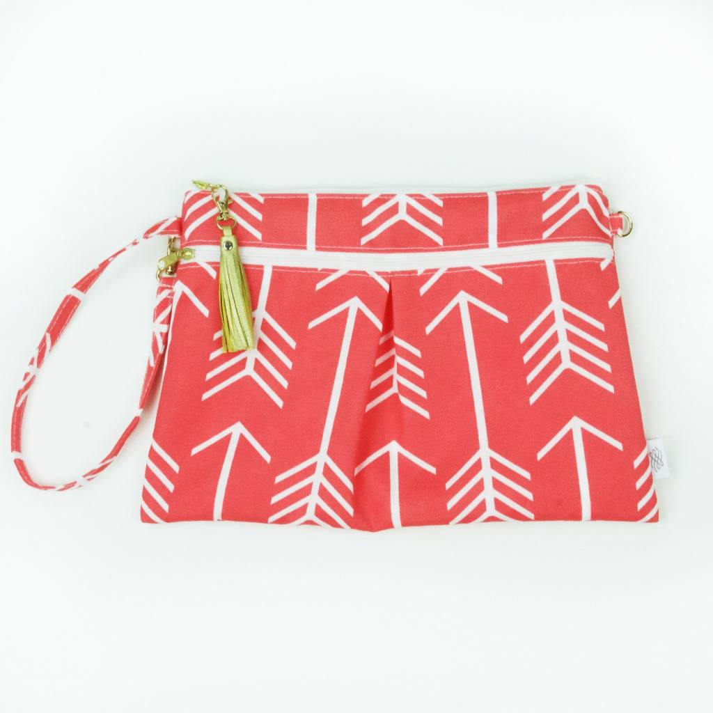 Logan and Lenora Wristlet Clutch