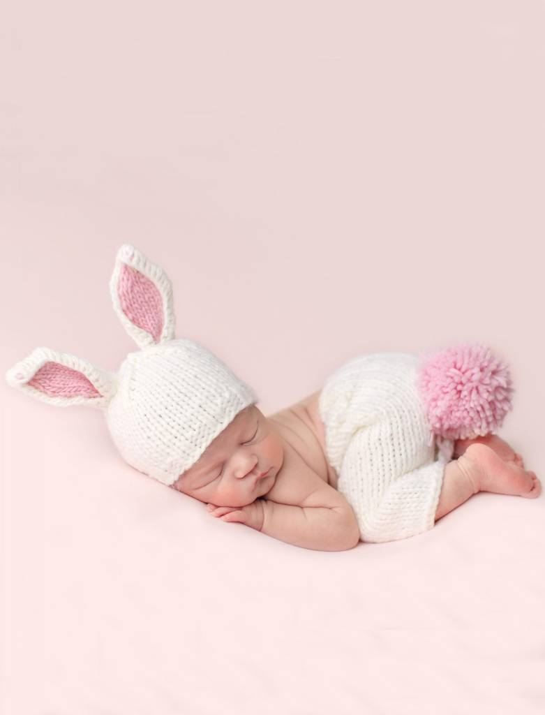 The Blueberry Hill Bunny Newborn Set Pink