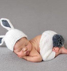 The Blueberry Hill Bunny Newborn Set Grey