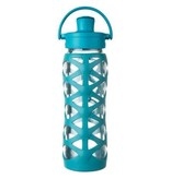 Lifefactory 22 Oz Glass Bottle with Active Flip Cap