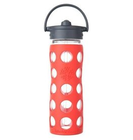 Lifefactory Glass Bottle Straw Cap