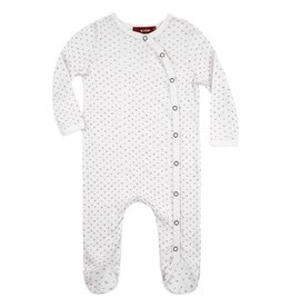 Dot Footed Romper