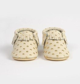 Moccasins- Heirloom in Cream