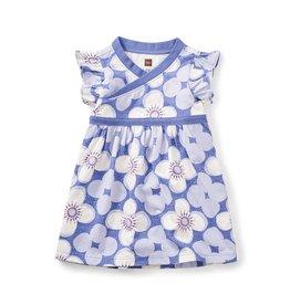 Tea Collection Starflower Wrap Neck Bb Dress