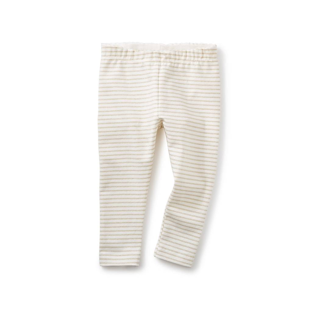 Tea Collection Sparkle Stripe Baby Leggings