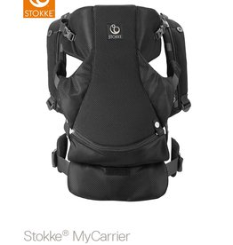 Stokke Stokke MyCarrier Front and Back Black Mesh