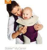 Stokke Stokke My Carrier Front and Back Black Mesh