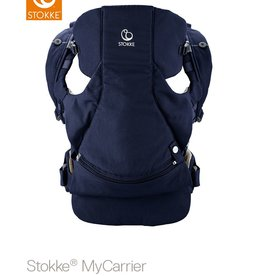 Stokke Stokke MyCarrier Front and Back Deep Blue