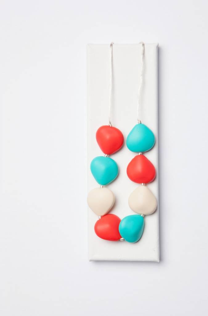 Maya & Max Bijou Teething Necklace- Mandy