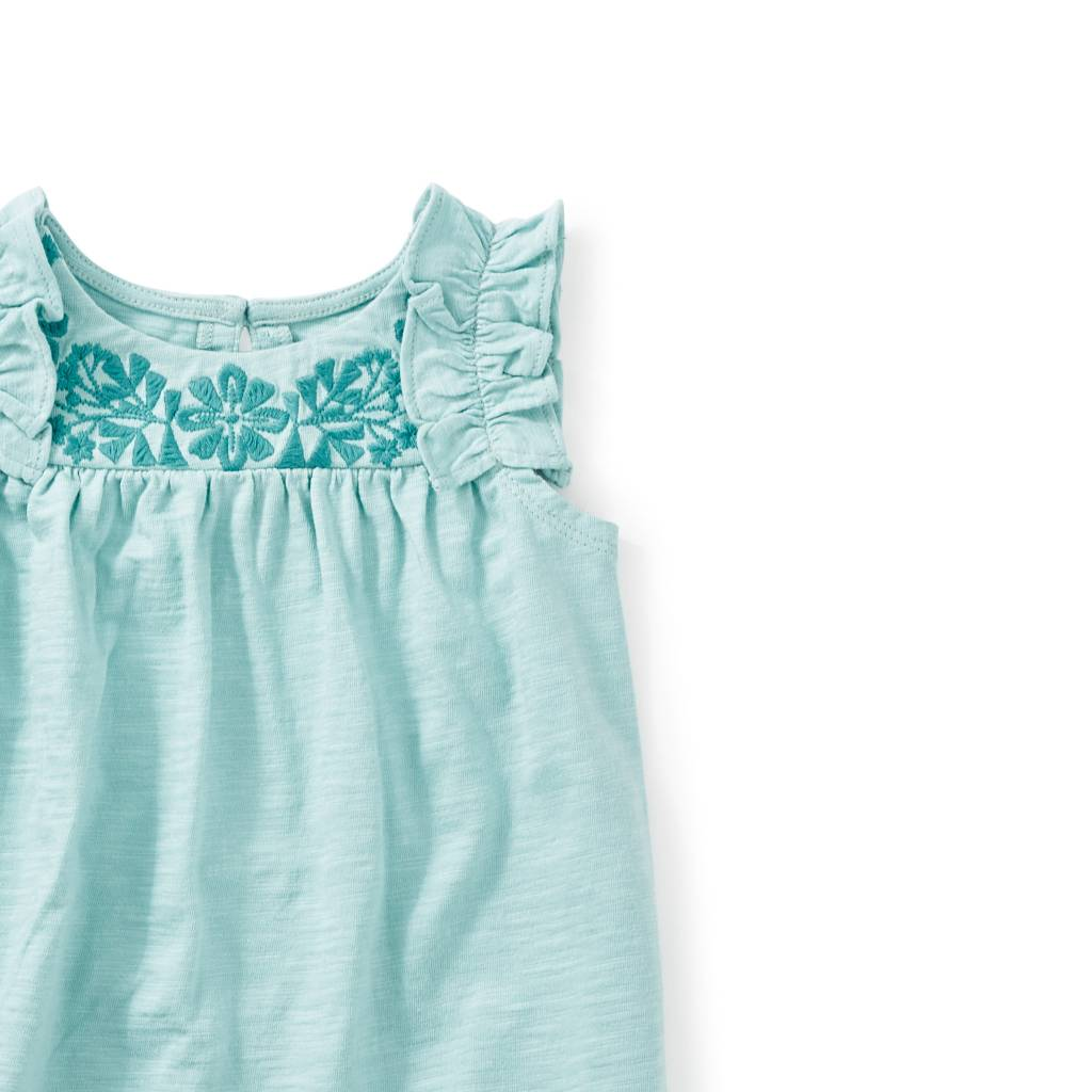 Tea Collection Myrtle Embroidered Top