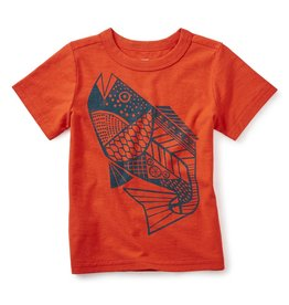 Tea Collection Fresh Fish Graphic Tee