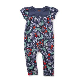Tea Collection Thistle Button Romper