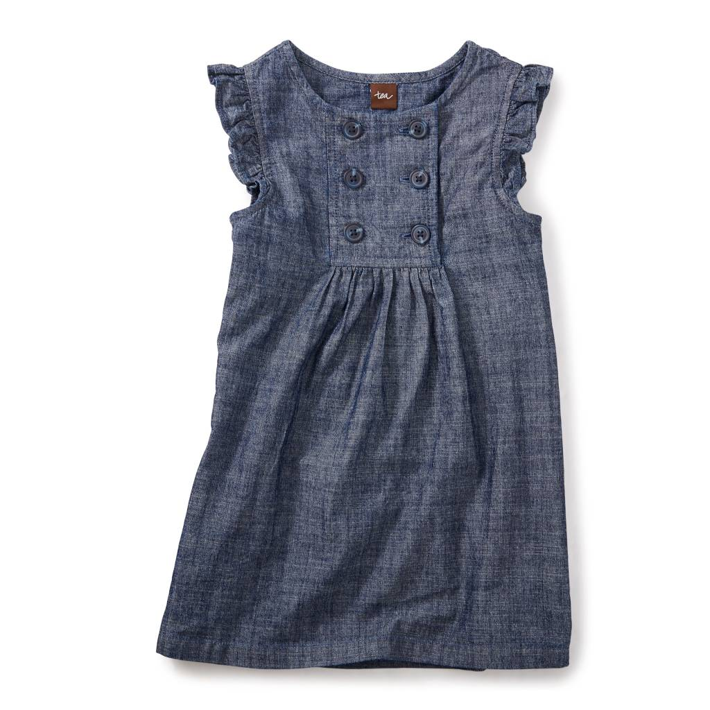 Tea Collection Citizen Chambray Sailor Dress