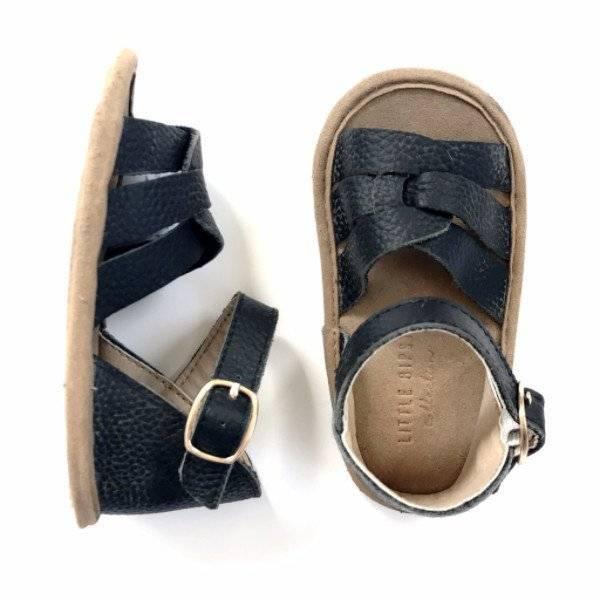 Little Bipsy Sandals- Jet (black)