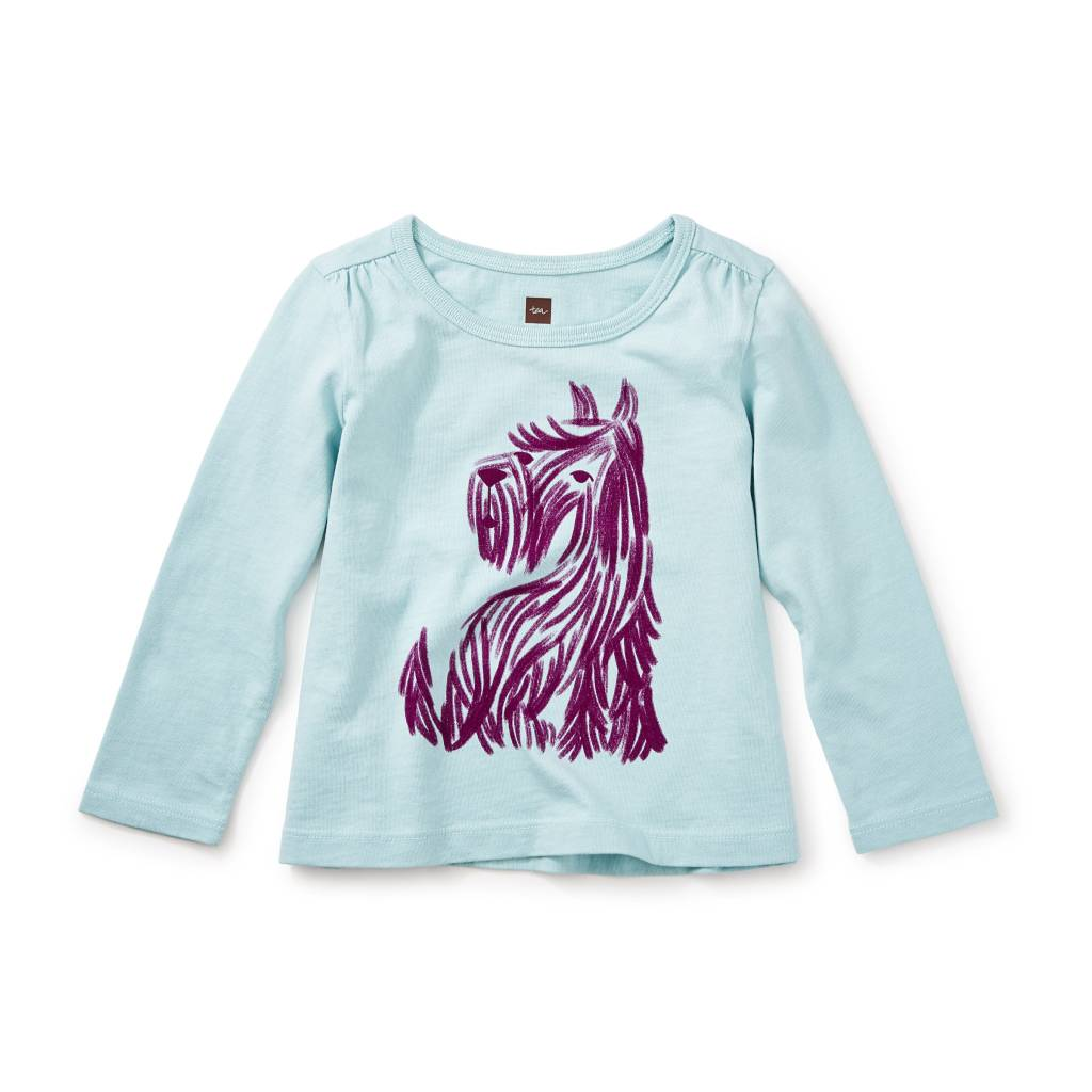 Tea Collection Baby Scottie Graphic Tee