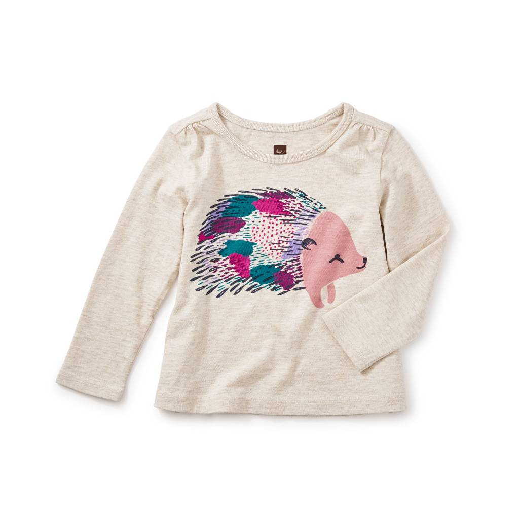 Tea Collection Hedgehog Graphic Tee