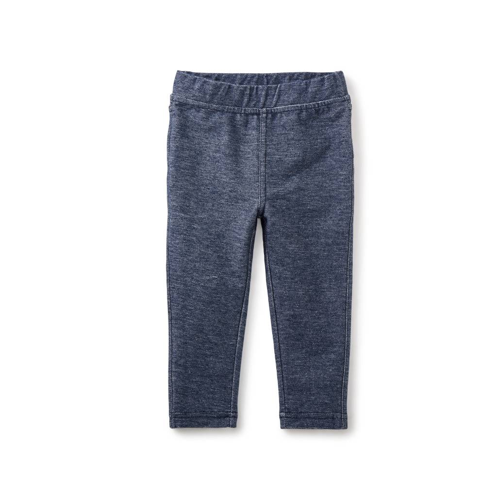 Tea Collection Stretch Denim-Like Baby Pant