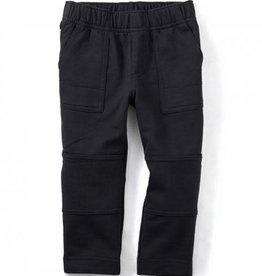 Tea Collection French Terry Playwear Pants- Black