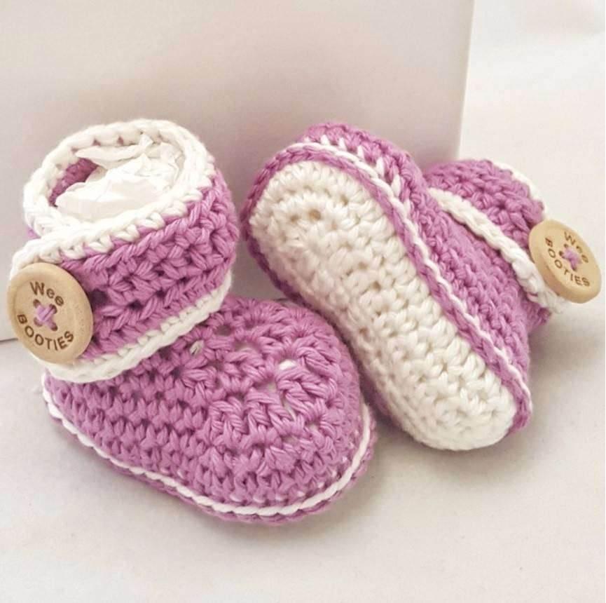 Wee Booties Tatum Wee Booties Pima Cotton