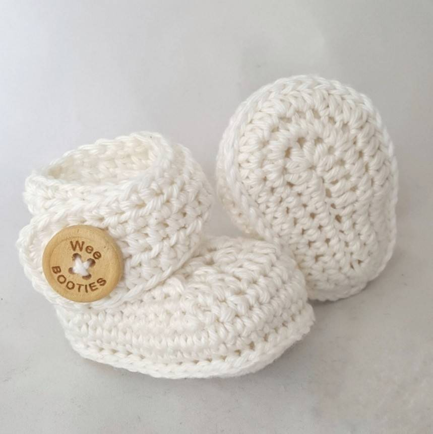 Wee Booties Owen Wee Booties Pima Cotton