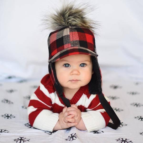 George Hats Buffalo Pom Hat