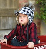 George Hats Plaid Pom Hat