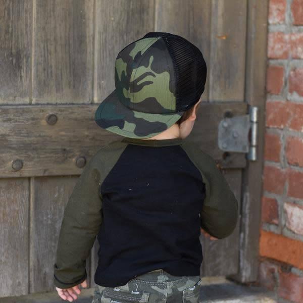 George Hats Camo Trucker