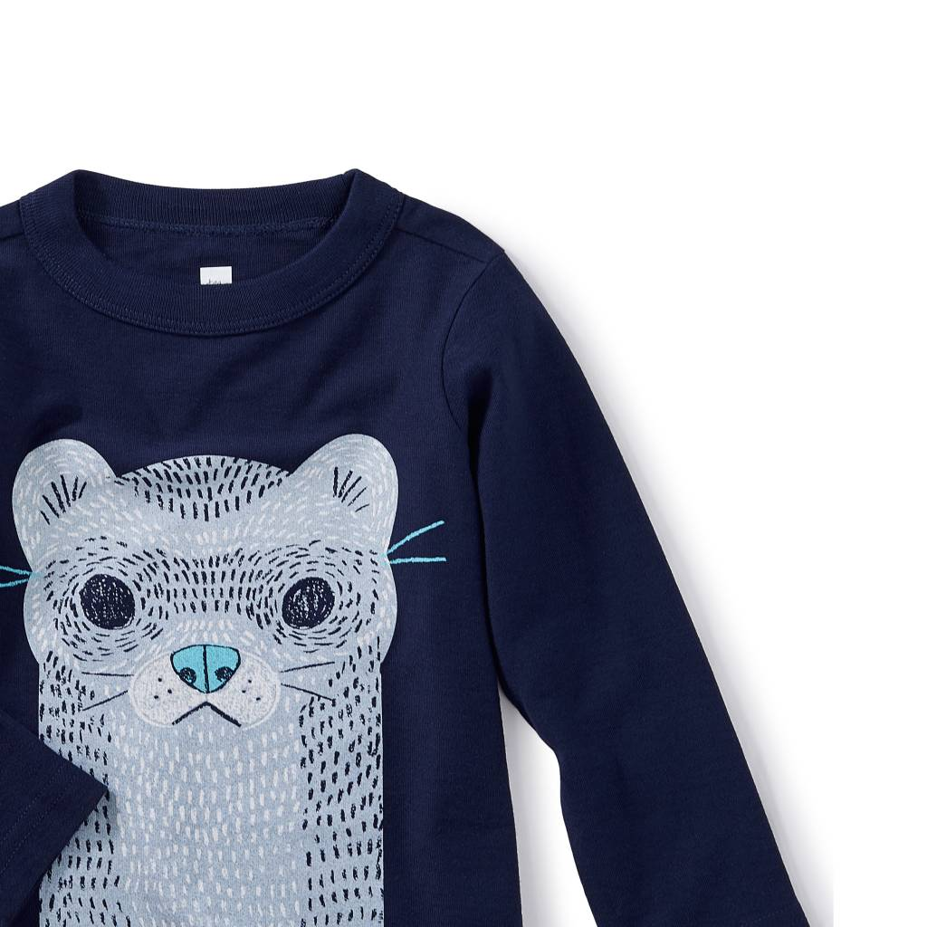Tea Collection River Otter Graphic Tee