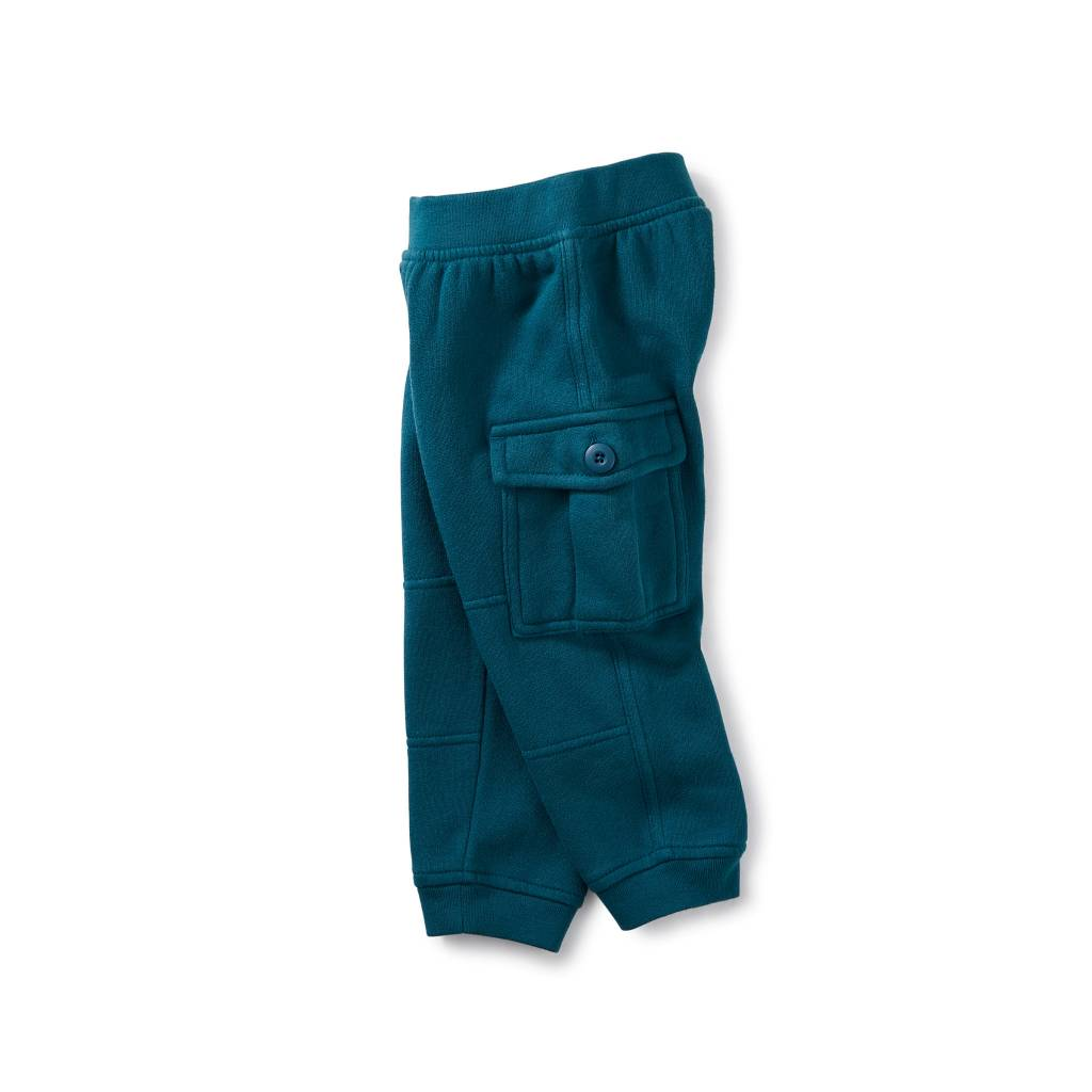 Tea Collection Fleece Cargo Joggers