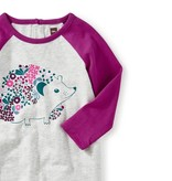 Tea Collection Hedgehog Graphic Romper