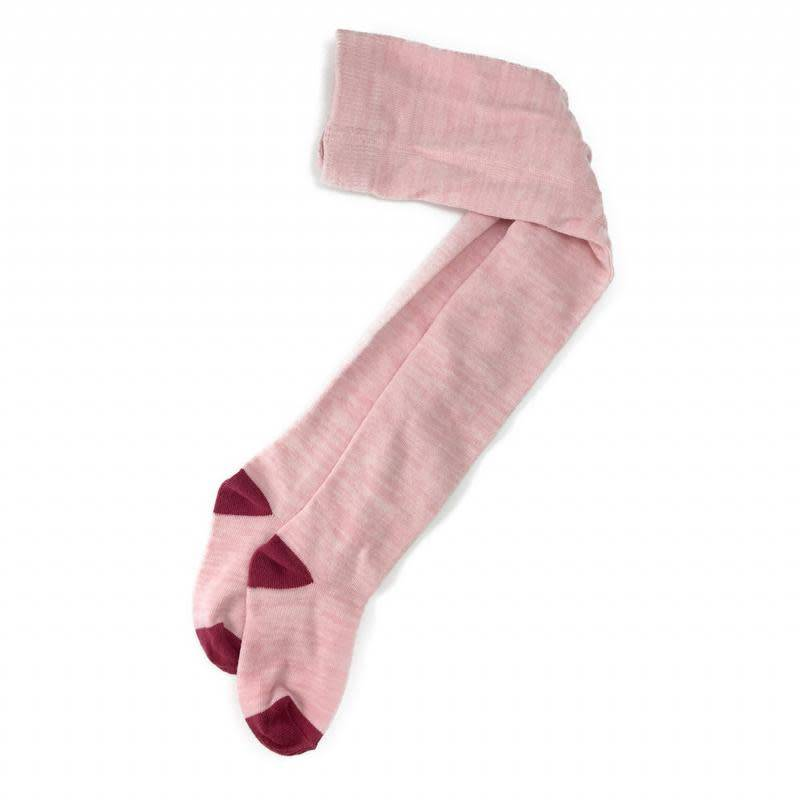 Baby Bling Space Dye Knit Tights- Pink/Hot Pink