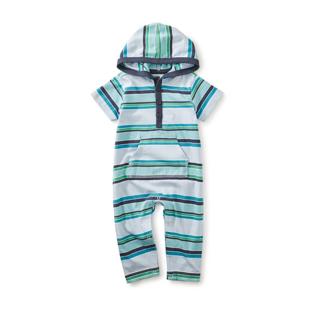 Tea Collection Horizon Hooded Romper
