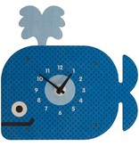 Modern Moose Whale Basic Clock