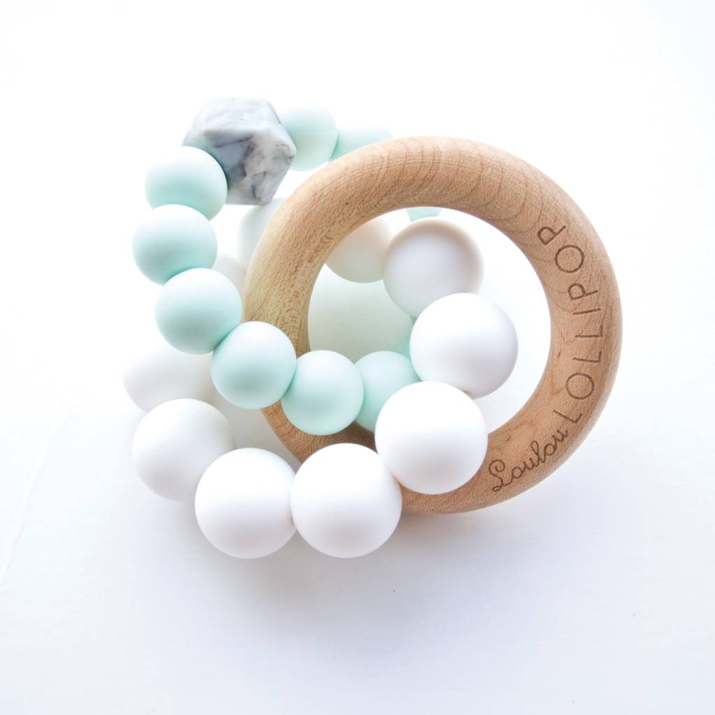 Trinity Wood and Silicone Teether