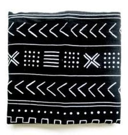 Bamboo Swaddle- Mudcloth Black