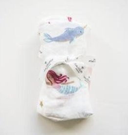 Bamboo Swaddle- Mermaid