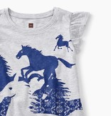 Tea Collection Wild Horses Twirl Top