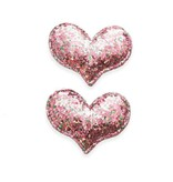 Baby Bling Pink Heart Clip