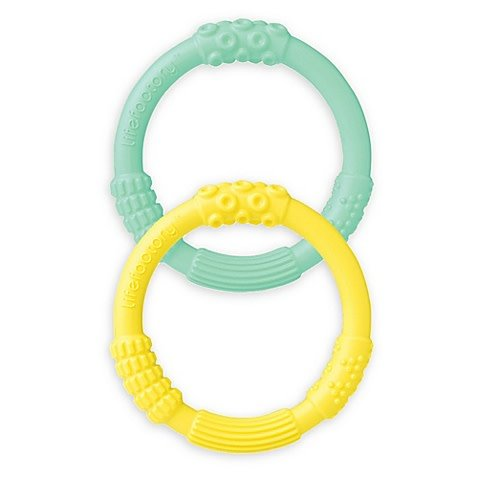 Lifefactory Silicone Teether 2-Pack